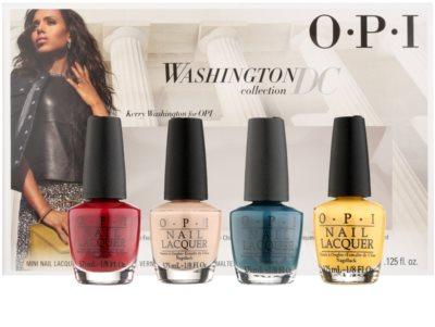 OPI Washington DC set cosmetice I.