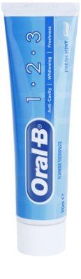 Oral B 1-2-3 dentífrico com fluór