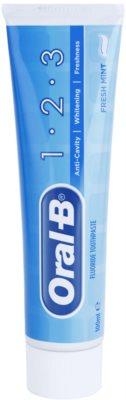 Oral B 1-2-3 Zahnpasta mit Fluor