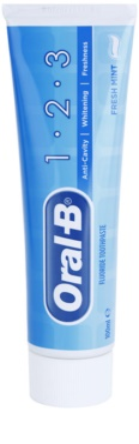 Oral B 1-2-3 zobna pasta s fluoridom