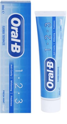 Oral B 1-2-3 pasta do zębów z fluorem 1