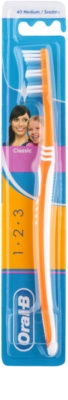 Oral B 1-2-3 Classic Care zubní kartáček medium