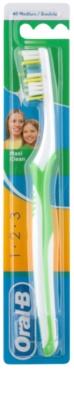 Oral B 1-2-3 Maxi Clean escova de dentes medium