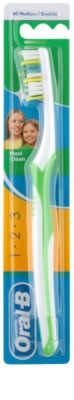 Oral B 1-2-3 Maxi Clean zobna ščetka medium