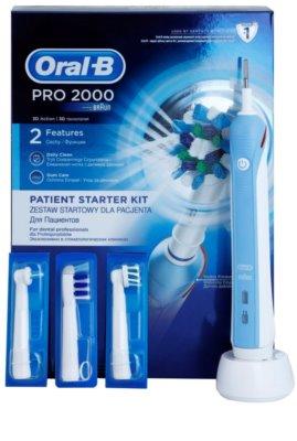 Oral B Pro 2000 D20.543.2M Blue Box Professional električna zobna ščetka