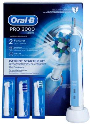 Oral B Pro 2000 D20.543.2M Blue Box Professional elektromos fogkefe