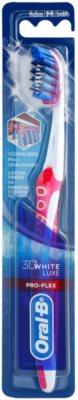 Oral B 3D White Luxe Pro-Flex зубна щітка середньої жорсткості