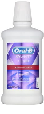 Oral B 3D White Luxe вода за уста за искрящи бели зъби