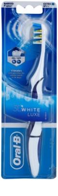 Oral B 3D White Luxe bateriový zubní kartáček extra soft