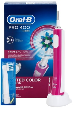 Oral B Pro 400 D16.513 CrossAction escova de dentes eléctrica