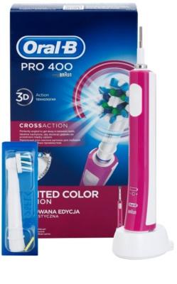 Oral B Pro 400 D16.513 CrossAction електрична зубна щітка