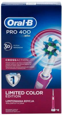 Oral B Pro 400 D16.513 CrossAction електрична зубна щітка 4