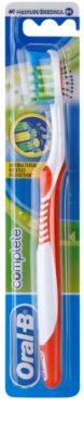 Oral B Complete Antibacterial escova de dentes medium