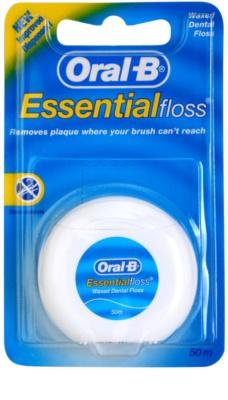 Oral B Essential Floss Вощена міжзубна нитка