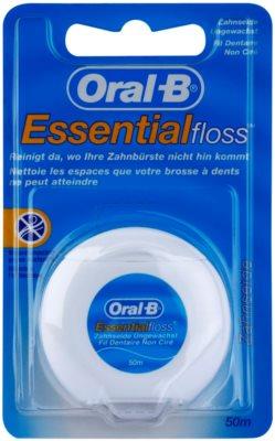 Oral B Essential Floss nevoskovaná dentální nit