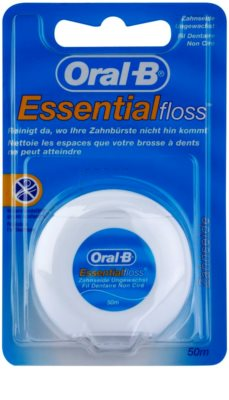 Oral B Essential Floss невощена зубна нитка