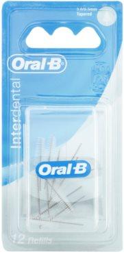Oral B Interdental Care запасні міжзубні конічні щіточки 12 шт