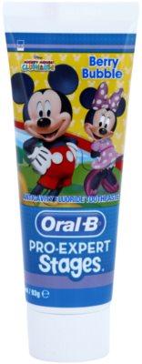 Oral B Pro-Expert Stages Mickey Mouse fogkrém gyermekeknek