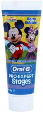 Oral B Pro-Expert Stages Mickey Mouse Pasta de dinti pentru copii.
