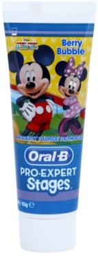 Oral B Pro-Expert Stages Mickey Mouse Zahnpasta für Kinder