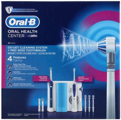 Oral B Oxyjet +3000 elektrische Zahnbürste 6