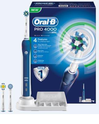 Oral B Pro 4000 D20.535.4 escova de dentes eléctrica
