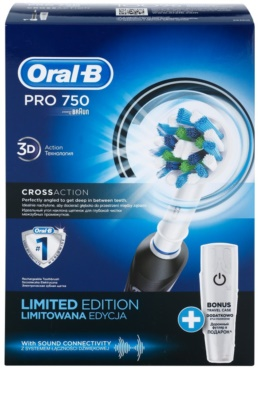Oral B Pro 750 D16.513.UX CrossAction električna zobna ščetka 5