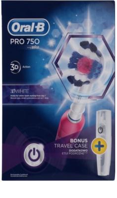 Oral B Pro 750 D16.513.UX 3D White elektromos fogkefe 5
