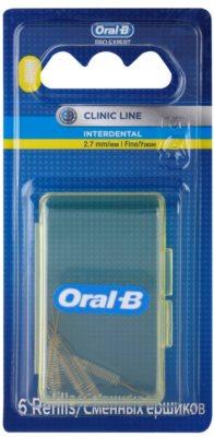 Oral B Pro-Expert Clinic Line Ersatz-Interdentalbürsten in der Blisterverpackung 6 Stück