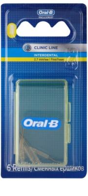 Oral B Pro-Expert Clinic Line escovas interdentais com peças em blister 6 pçs