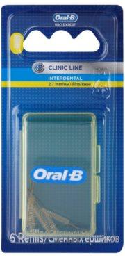 Oral B Pro-Expert Clinic Line zestaw zapasowych szczoteczek międzyzębowych 6 szt.