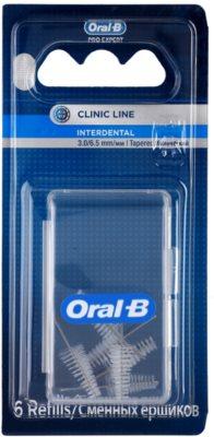 Oral B Pro-Expert Clinic Line escovas interdentais cónicas em blister 6 pçs