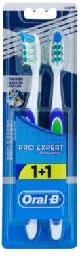 Oral B Pro-Expert CrossAction Extra Clean cepillo de dientes medio 2 uds