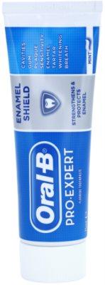 Oral B Pro-Expert Enamel Shield Pasta de dentes para o fortalecimento e proteção do esmalte