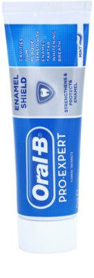 Oral B Pro-Expert Enamel Shield Zahnpasta für schutz und stärkung von Zahnschmelz