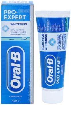 Oral B Pro-Expert Whitening відбілююча зубна паста 1