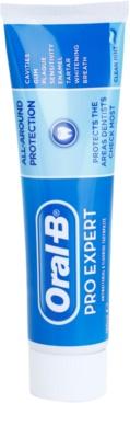 Oral B Pro-Expert All-Around Protection Zahnpasta zum vollständigen Schutz der Zähne und einen frischen Atem
