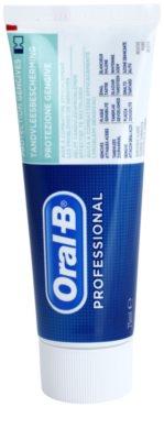 Oral B Professional Gum Protection fogkrém a fogak és a fogíny védelmére