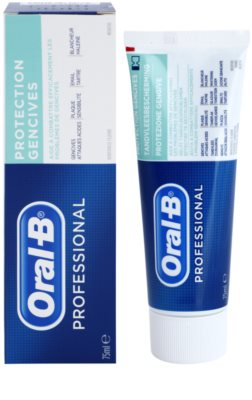 Oral B Professional Gum Protection pasta do zębów chroniąca zęby i dziąsła 1