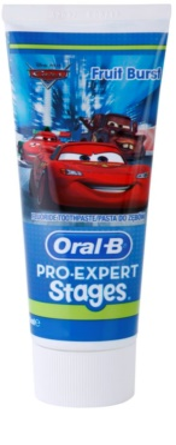 Oral B Pro-Expert Stages Cars pasta de dentes para crianças