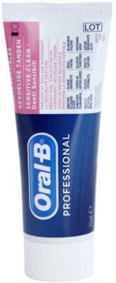 Oral B Professional Sensitive Clean Paste für empfindliche Zähne