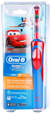 Oral B Stages Power Cars D12.513.1 електрическа четка за зъби за деца