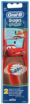 Oral B Stages Power EB10 Cars recambio para cepillo de dientes  extra suave