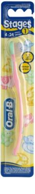 Oral B Stages 1 дитяча зубна щітка м'яка