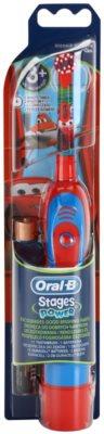 Oral B Stages Power DB4K Cars elemes gyermek fogkefe gyenge