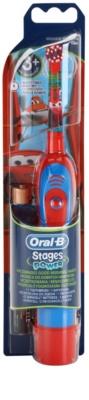 Oral B Stages Power DB4K Cars Escova de dentes com bateria para crianças soft