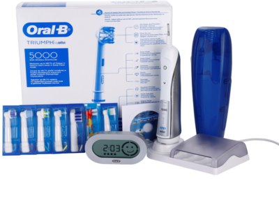 Oral B Triumph 5000 D34.575.5X електрична зубна щітка