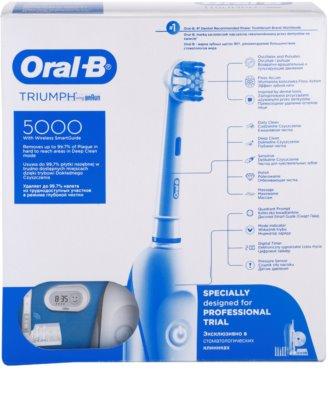 Oral B Triumph 5000 D34.575.5X elektrische Zahnbürste 2