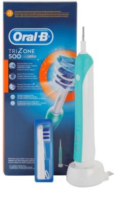 Oral B Tri Zone 500 D16.513.u elektryczna szczoteczka do zębów