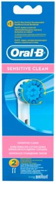 Oral B Sensitive Clean EBS 17 kompaktní hlavy zubního kartáčku 1